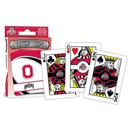 Ohio State Buckeyes Playing Card (MasterPieces Ohio State Playing Cards )