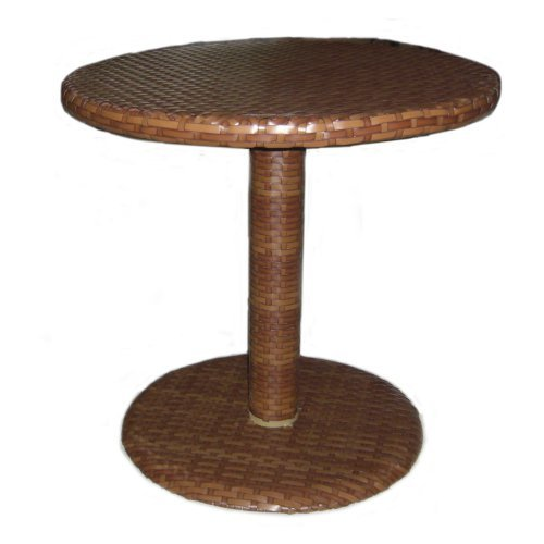 panama jack outdoor st barths round bistro dining table 30inch