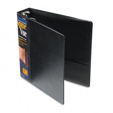 SpineVue Round Ring View Binder  2 Capacity  (Vinyl Spinevue Ring Binder)