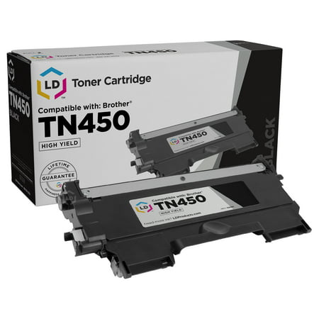 Toner Form - Brother TN450 High Yield Black Compatible Toner Cartridge TN-450 TN420 TN-420 MFC-7240 MFC-7360N MFC-7365DN MFC-7460DN MFC-7860DW HL-2240 HL-2130 HL-2132 HL-2220 HL-2230 HL-2240D