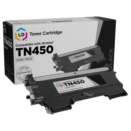 Brother TN450 High Yield Black Compatible Toner Cartridge TN-450 TN420 TN-420 MFC-7240 MFC-7360N MFC-7365DN MFC-7460DN MFC-7860DW HL-2240 HL-2130 HL-2132 HL-2220 HL-2230