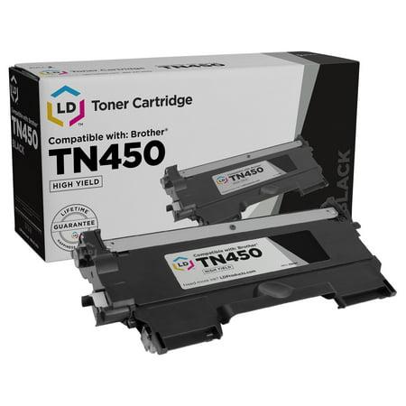 Brother TN450 High Yield Black Compatible Toner Cartridge TN-450 TN420 TN-420 MFC-7240 MFC-7360N MFC-7365DN MFC-7460DN MFC-7860DW HL-2240 HL-2130 HL-2132 HL-2220 HL-2230 HL-2240D