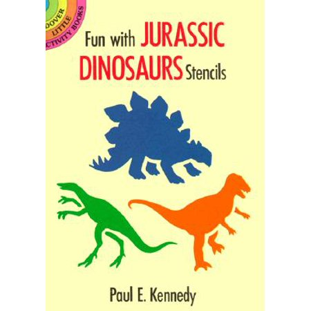 Fun with Jurassic Dinosaurs Stencils
