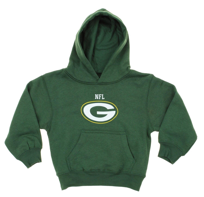 NFL Kids Green Bay Packers Team Logo Pullover Hoodie