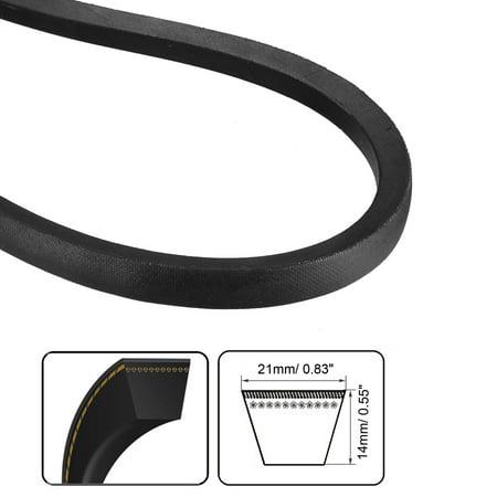 C-1550/C61 Drive V-Belt Inner Girth 61-inch Industrial Power Rubber Transmission Belt - image 3 of 4