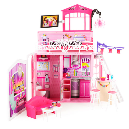 barbie house setting games glam vacation house walmart 10421