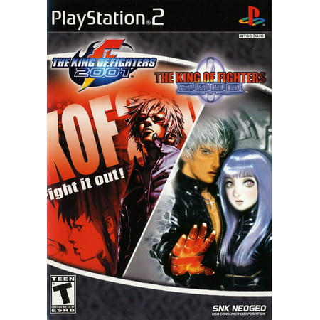 King of Fighters 2000 & 2001 - PlayStation 2 (King Of Fighters Maximum Impact 2 Ps2)
