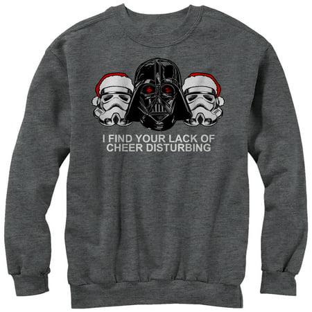 Star Wars Women's Christmas Empire Lack of Cheer Sweatshirt (Cheer Coach Sweatshirt)
