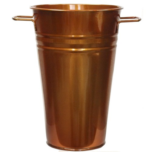Houston International Enameled Galvanized Table Vase