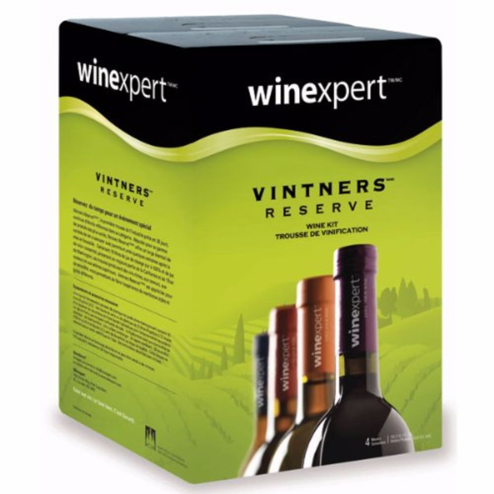 Vintner's Reserve Bergamais Red Wine Kit