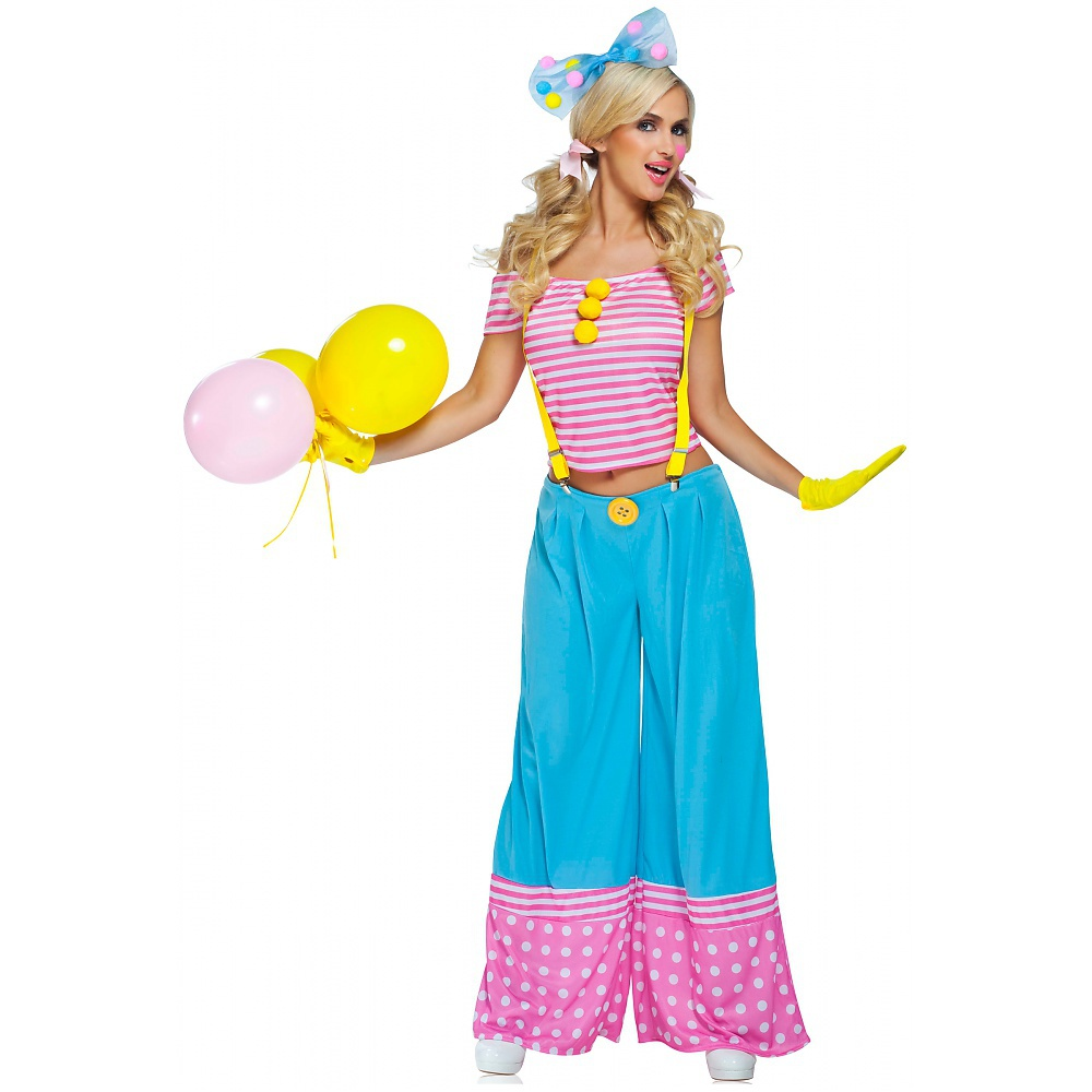 Floppie The Clown Adult Costume - Small