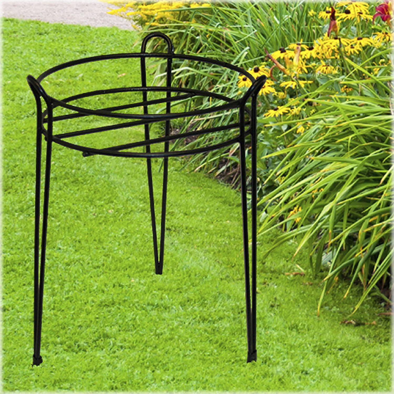 15-Inch Black Basic Plant Stand S1015-B, Charming, basic design By CobraCo