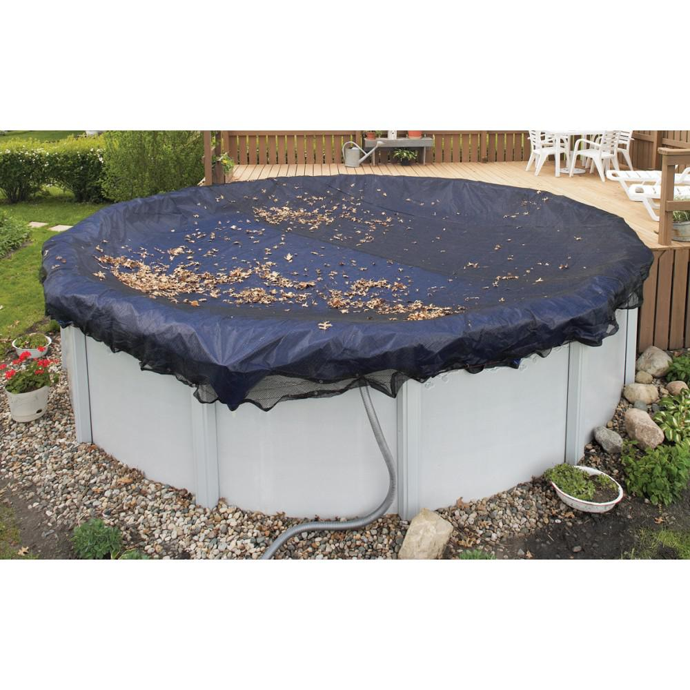 BlueWave Products WINTER COVERS WC501 Leaf Net For 15/16' Round Pool