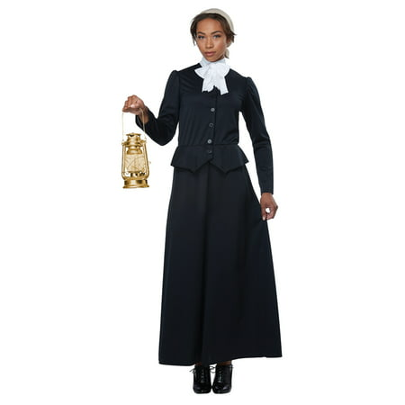 Womens Susan B. Anthony / Harriet Tubman Costume (Vegas Costumes For Womens)