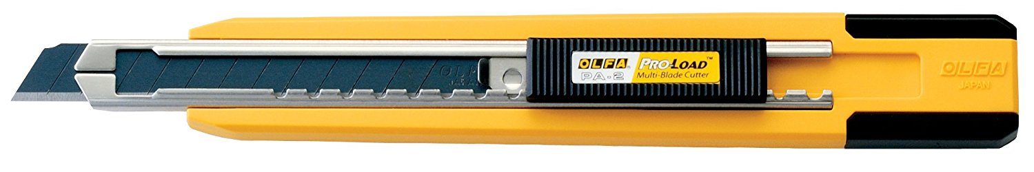 1064416 PA-2 9mm Multi-Blade Auto Load Utility Knife..., By OLFA Ship from US by
