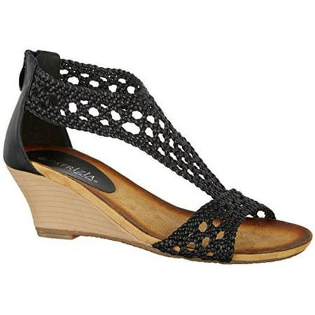 9d5ba247c8ea PATRIZIA - Patrizia Womens Larunda-B Open Toe Casual Platform Sandals