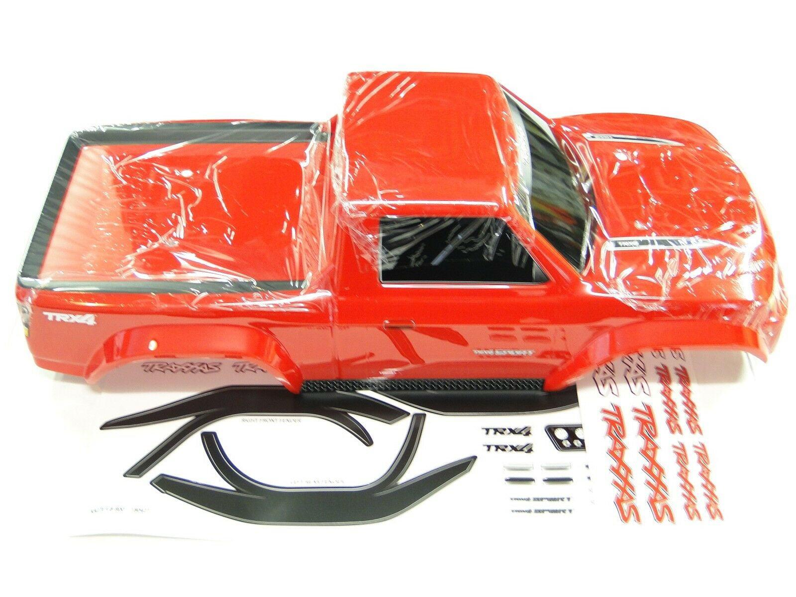 New Traxxas Trx 4 Sport Body Factory Painted Red Rz3r Walmart Com Walmart Com