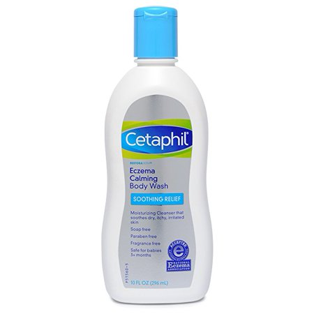 Cetaphil Restoraderm  Eczema Calming Body Wash  10 Oz
