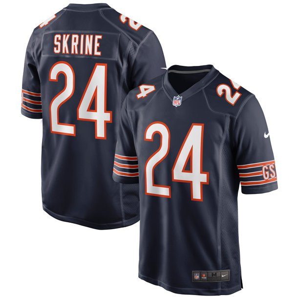 Buster Skrine Chicago Bears Nike Game Jersey - Navy