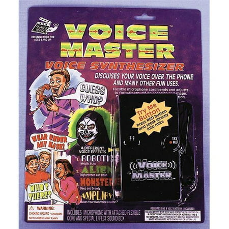 Costumes For All Occasions Va490 Voice Modifier](Voice Modifiers)