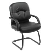 Boss Office & Home Black Mid Back Guest Chair