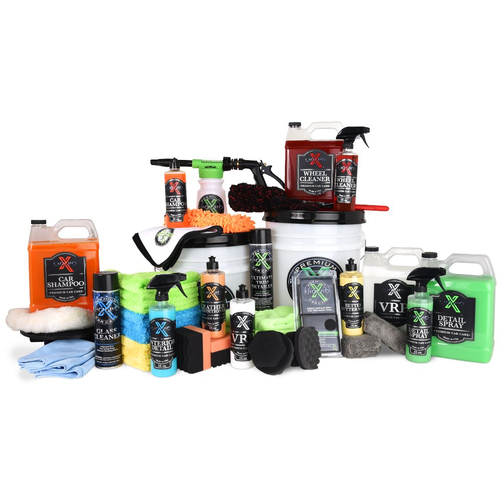 Liquid X Ultimate Detailing Kit - Everything You Need For a Full Detail!