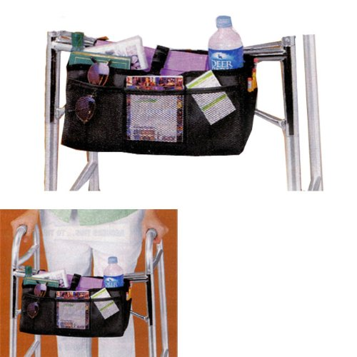 WALKER BASKET (MESH AND NYLON WITH BEVERAGE HOLDER) BY JUMBL