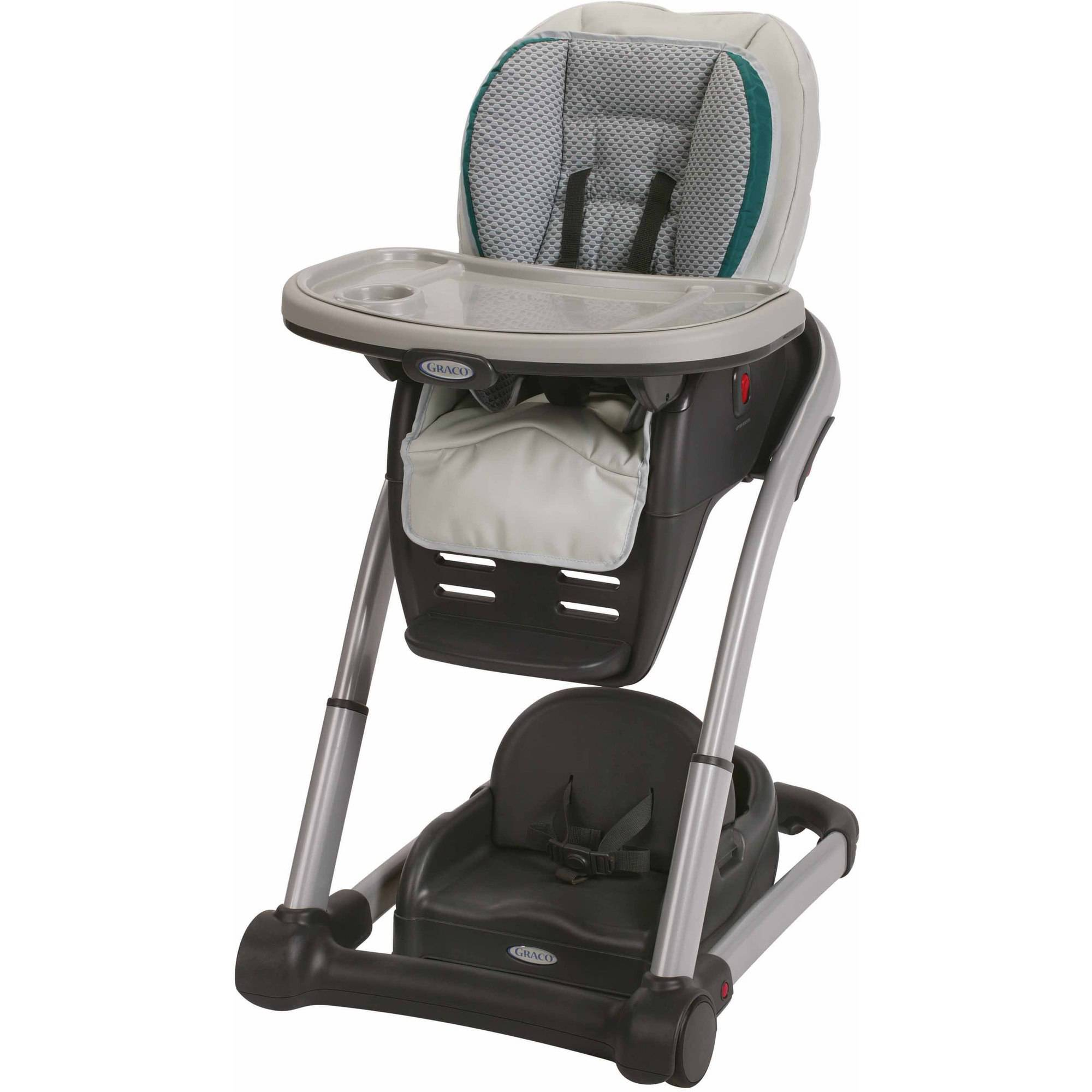 Graco Blossom 4-in-1 Seating System Convertible High Chair, Sapphire
