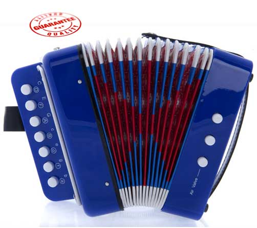 DLuca Child Button Accordion Blue by D'Luca