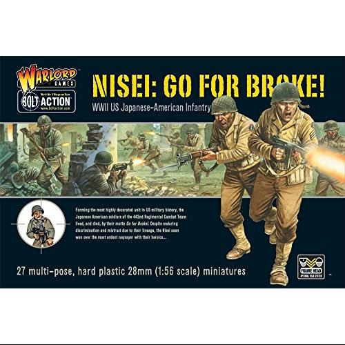 Warlord Games Bolt Action World War 2 Nisei Infantry Go For Broke Us Soldiers