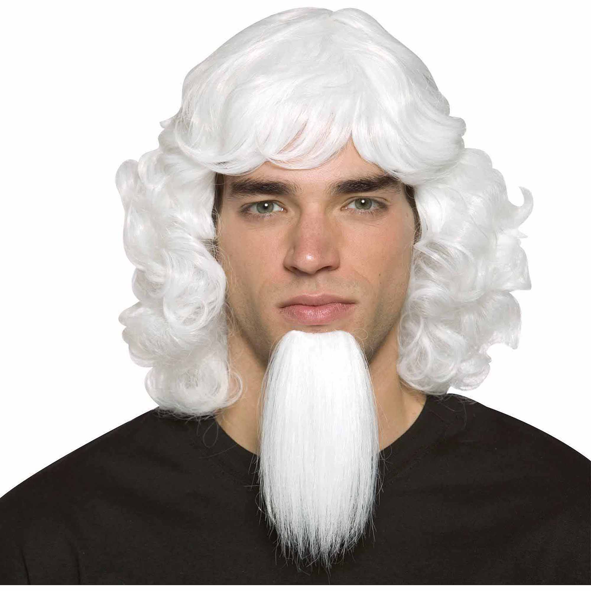 Uncle Sam Wig with Goatee Adult Halloween Accessory