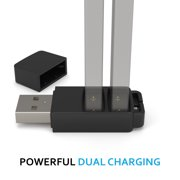 DUET Dual Charger for JUUL Battery, Charge TWO JUUL Batteries TOGETHER!