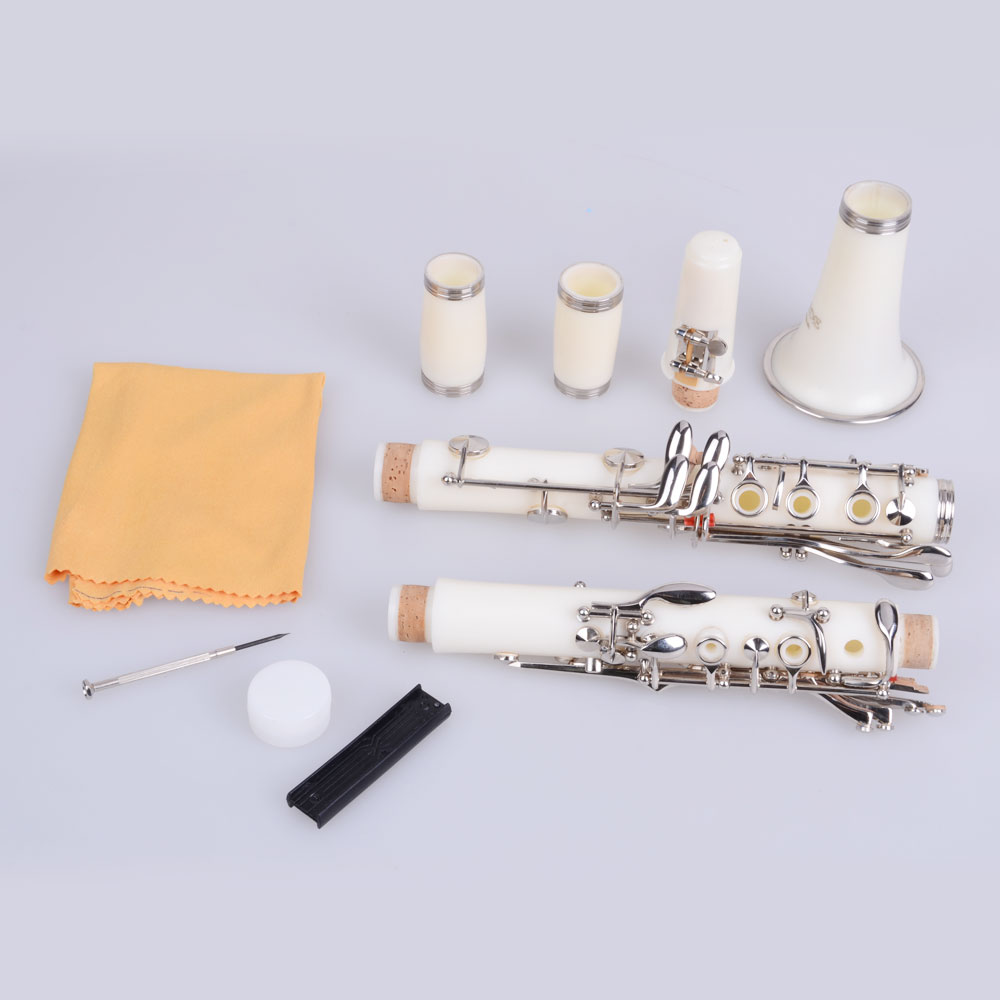 Ktaxon New Professional School Band Bb Clarinet with Case Accessories 3 Colors