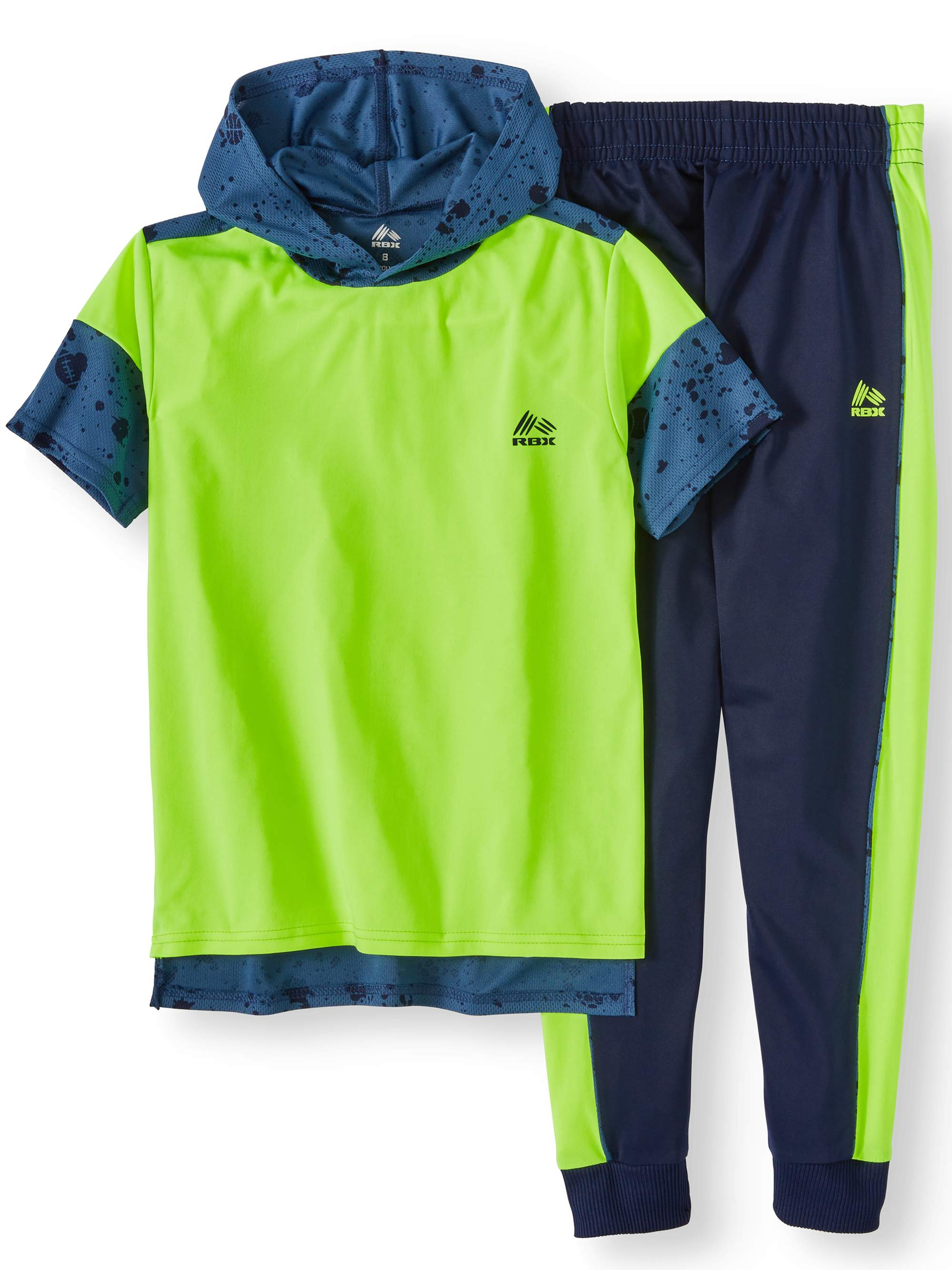 Boys' Performance Hoodie and Tricot Jogger Set