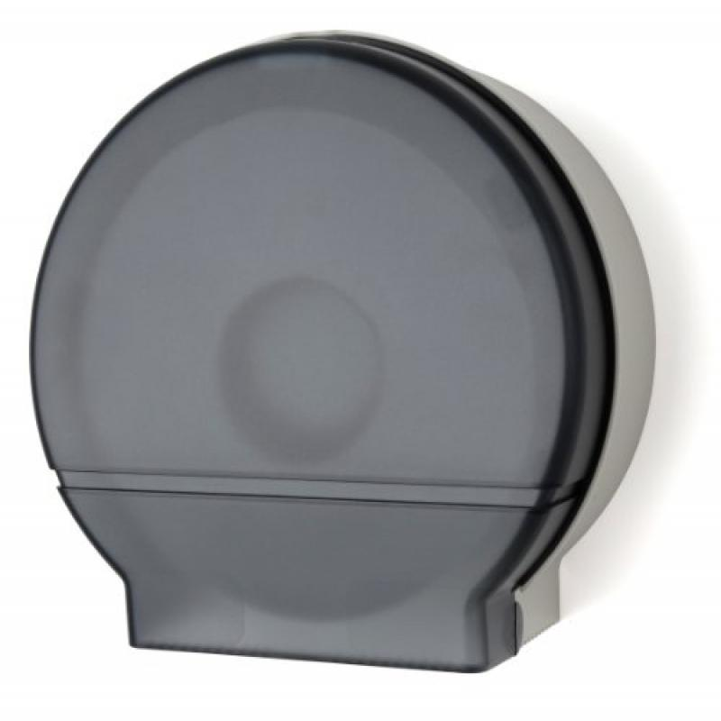 "Palmer Fixture RD0026-01 Single Roll Jumbo Tissue Dispenser with 33/8"" Core, Dark Translucent"