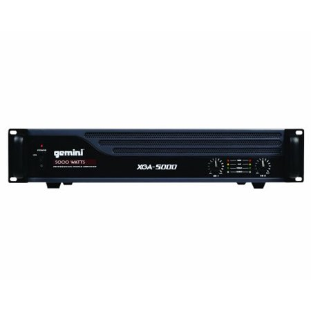 Gemini XGA-5000 Professional Power Amplifier
