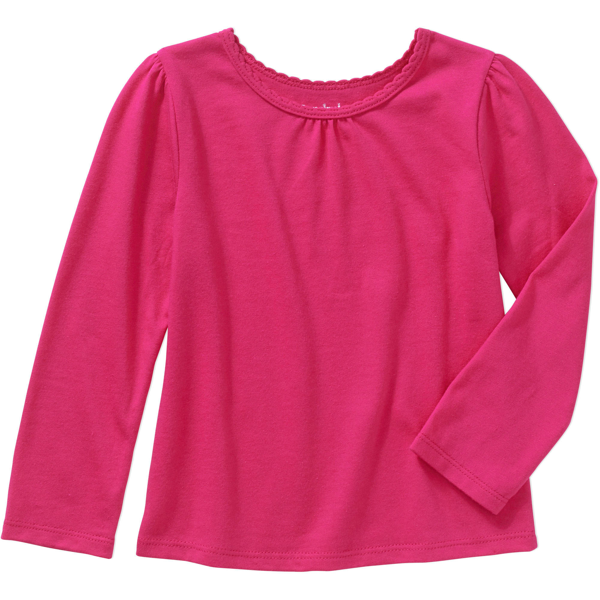 Garanimals Baby Toddler Girls' Long Sleeve Basic Tee
