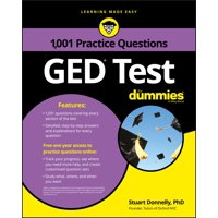 1,001 GED Practice Questions for Dummies (Paperback)