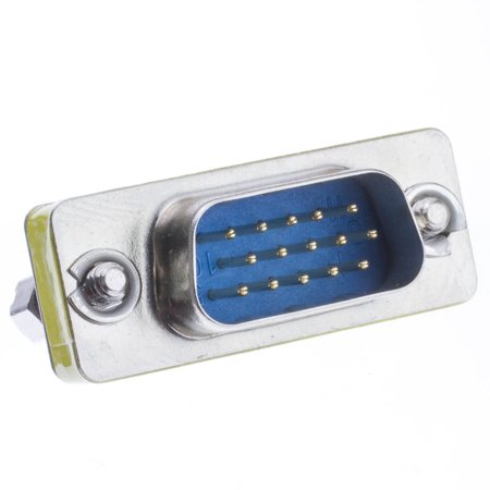 ACCL SVGA Mini Gender Changer/Coupler (HD15 Male to HD15 Female) for PC,