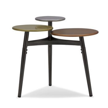 Metallic Multi-Tier Metal Accent Table by Drew Barrymore Flower Home