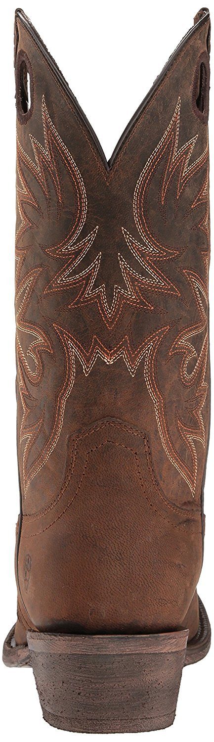 Ariat Men's Circuit Striker Western Cowboy Boot, Weathered Brown, 10 D US