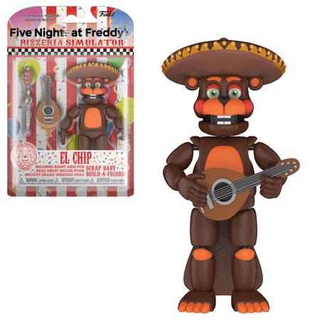 Funko Action Figure: FNAF Pizza Simulator - El Chip - Fnaf Halloween Markiplier