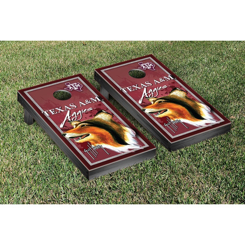 Victory Tailgate NCAA Texas A&M University Aggies Guy Harvey Cornhole Game Set by Victory Tailgate