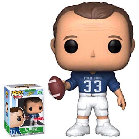 Funko Pop! Television: Married with Children - Al Bundy Football Uniform (Target