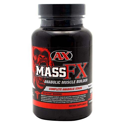 Athletic Xtreme Black Series Mass FX - 112 Capsules