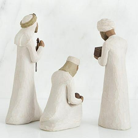 Three Wisemen Nativity Figurine Set Willow Tree Susan Lordi Demdaco 26027 Kings