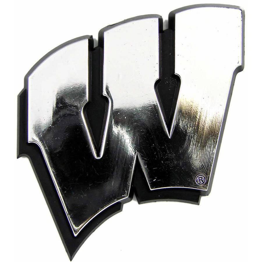 NCAA Wisconsin Chrome Emblem