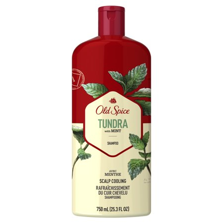 Old Spice Tundra with Mint Scalp Cooling Men