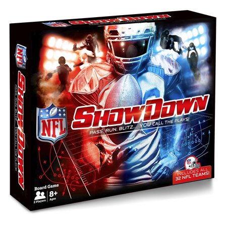 Buffalo Games NFL SHOWDOWN - Pass. Run. Blitz... You Call The Plays! (Play School Games)