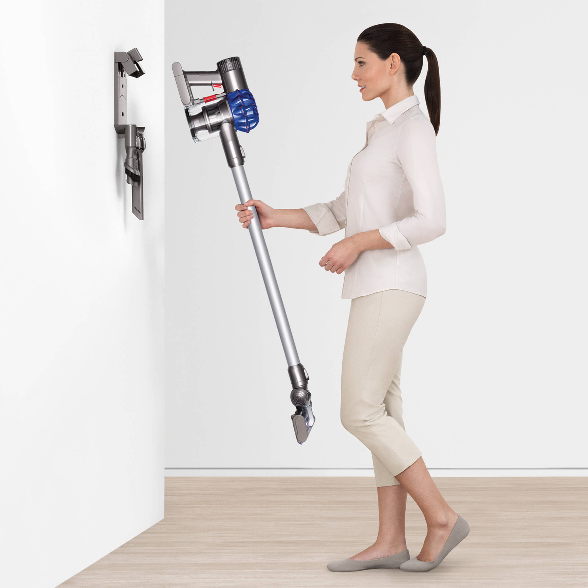 dyson v6 slim cordless vacuum ebay. Black Bedroom Furniture Sets. Home Design Ideas